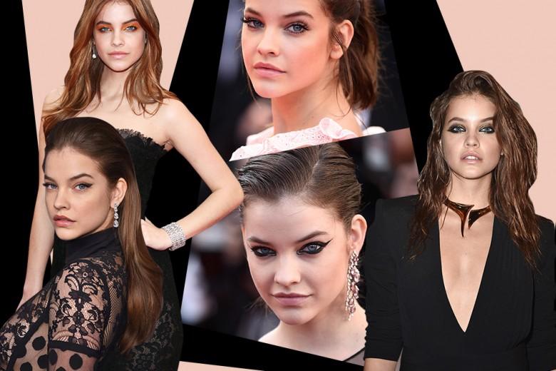 Barbara Palvin: i migliori beauty look dallo smokey eyes al make up nude