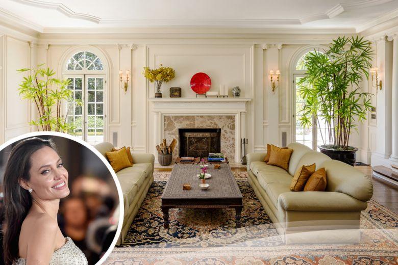 Angelina Jolie cambia di nuovo casa