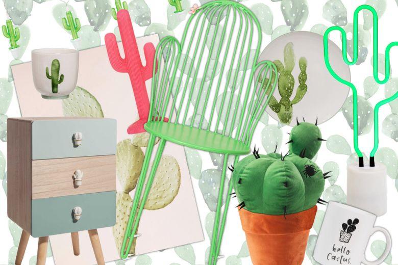 I cactus nell'home decor: 15 idee da comprare subito