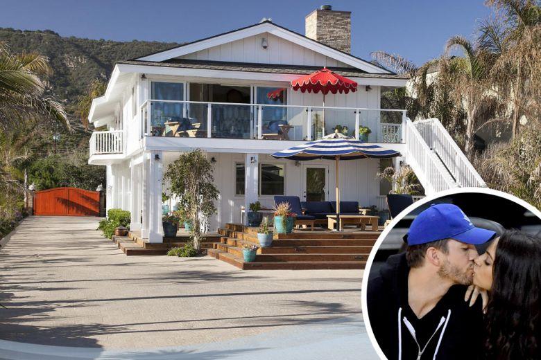 La casa delle vacanze di Ashton Kutcher e Mila Kunis