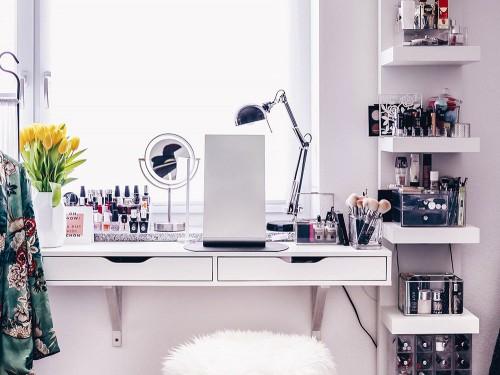 Ikea Organizzazione Ufficio : Postazione trucco ikea le idee più belle grazia