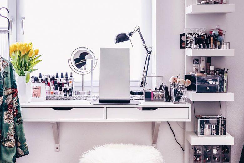 Postazione trucco IKEA: le idee più belle