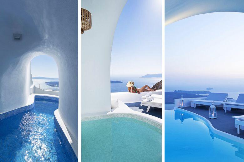 12 bellissime piscine in grotta a Santorini