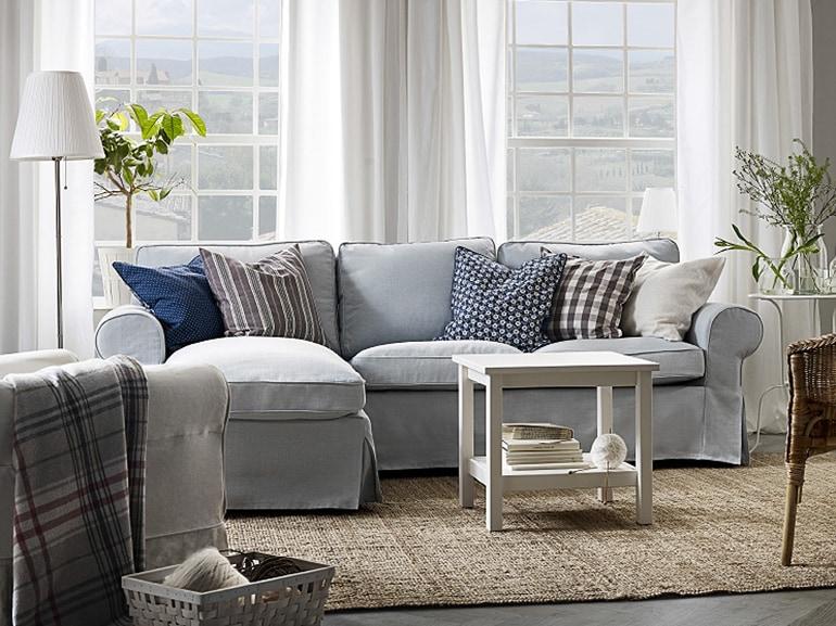 Divano ikea ektorp divani ikea in tessuto pelle e letto for Ikea divano ektorp 3 posti