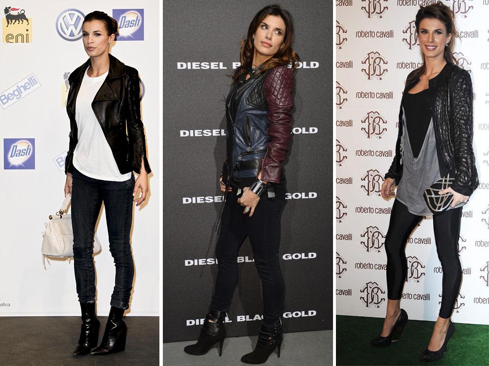 elisabetta-canalis-leather-jacket