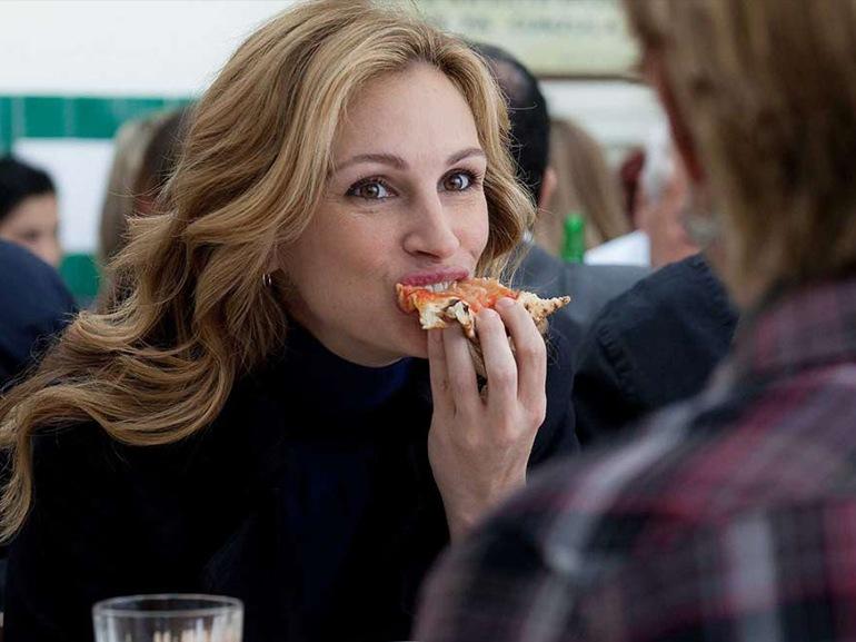 julia roberts pizza