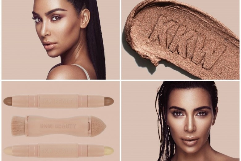 Kim Kardashian make up: nasce la sua linea trucco KKW Beauty