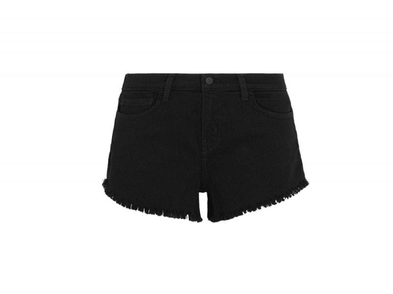 lagence-denim-nero-shorts