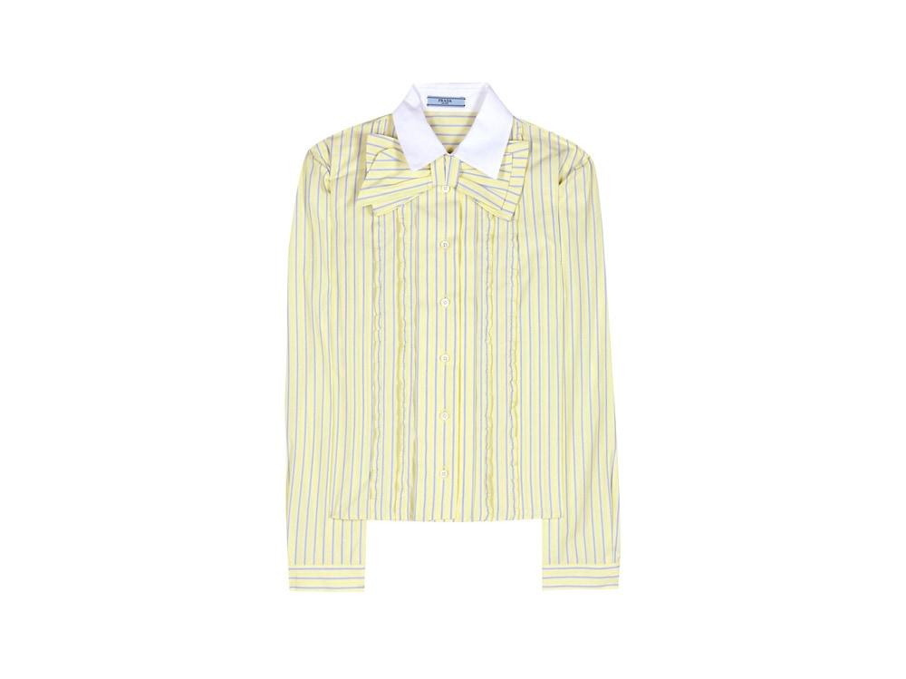 prada-camicia-fiocco-giallo