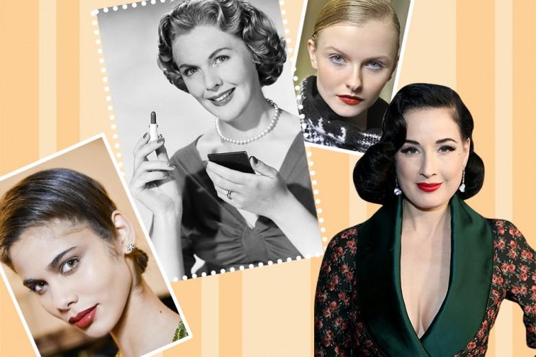 Trucco anni 50: i make up più belli da copiare per un look vintage