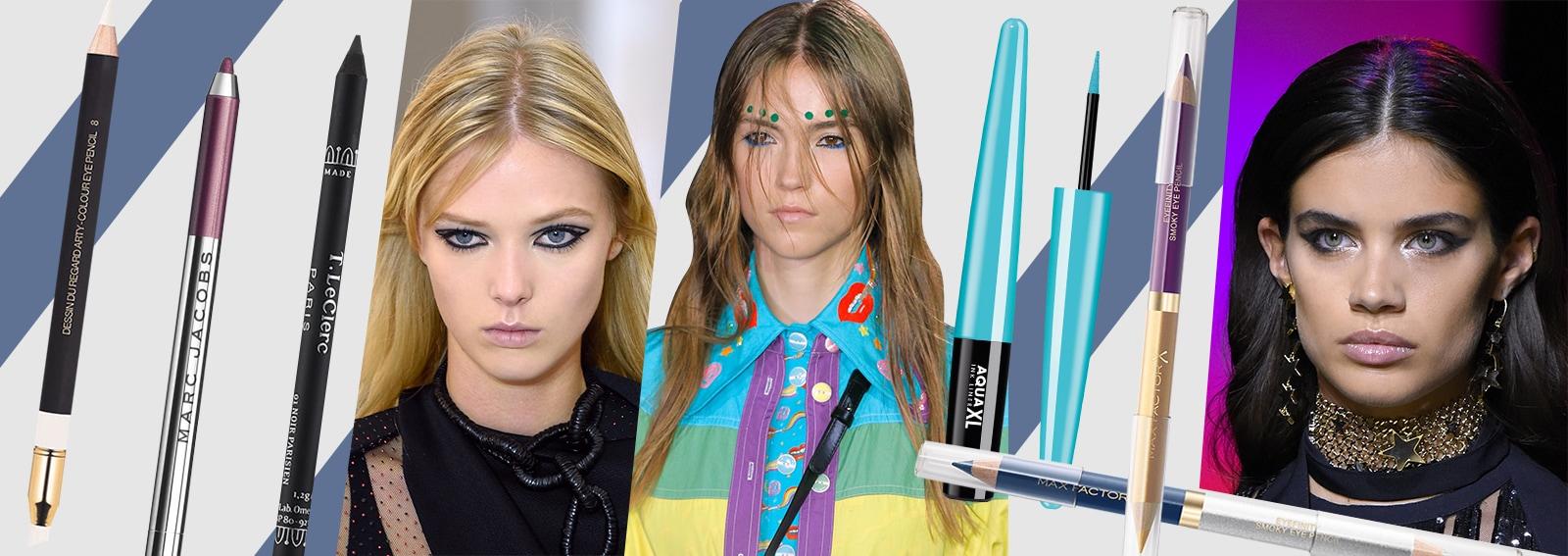 trucco eyeliner collage desktop