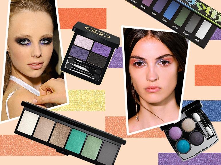 trucco occhi multicolor per l'estate collage_mobile