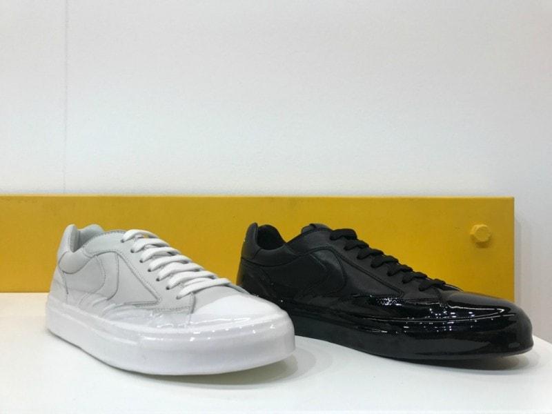 voile blanche scarpe