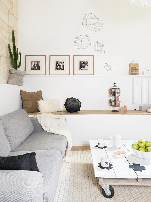 Soggiorno piccolo 10 idee per sfruttare bene lo spazio for Idee per dipingere il soggiorno