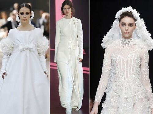 Abiti Da Sposa Giorgio Armani.Abiti Da Sposa Da Haute Couture Valentino Armani E Gli Altri