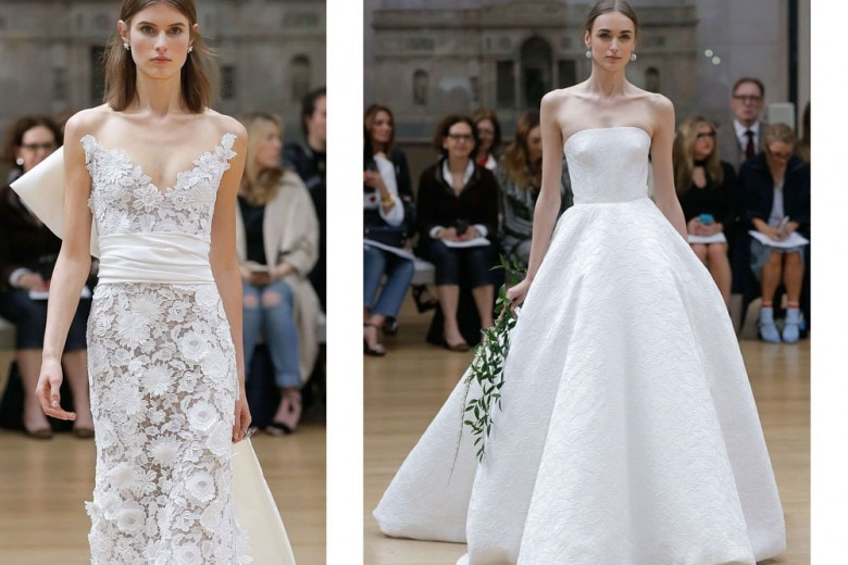 Abiti da sposa: la collezione Oscar de La Renta 2018
