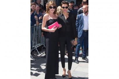 Carla-Bruni-Sarkozy-and-Farida-Khelfa-da-jean-paul-gaulthier-splash