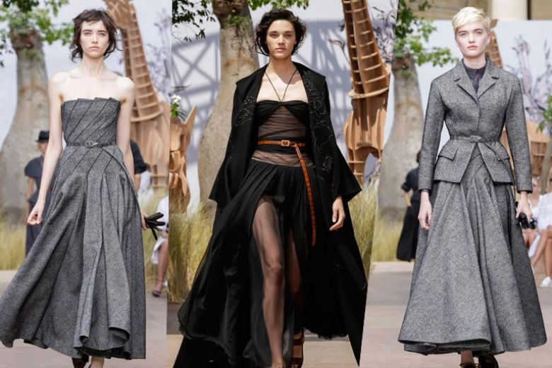 La viaggiatrice di Christian Dior Haute Couture in 10 look