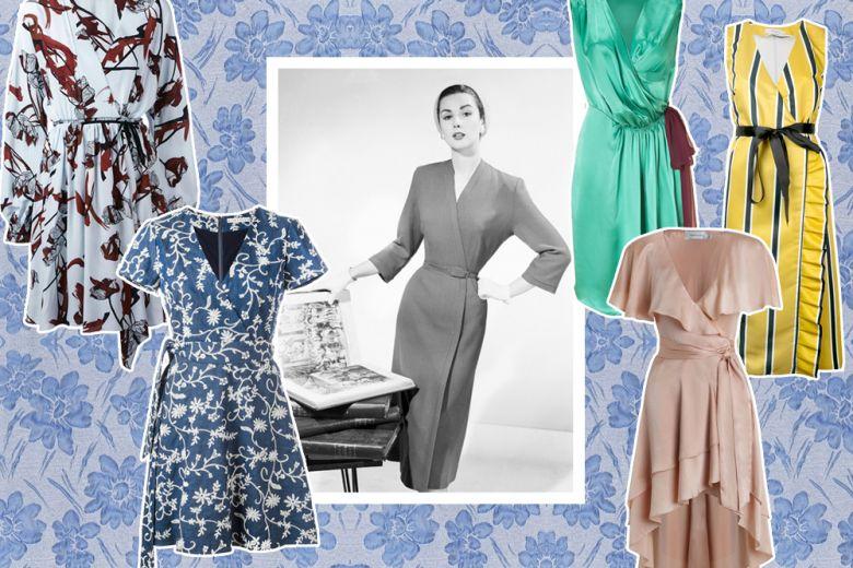 Wrap dress: gli abiti a portafoglio risolvono l'estate