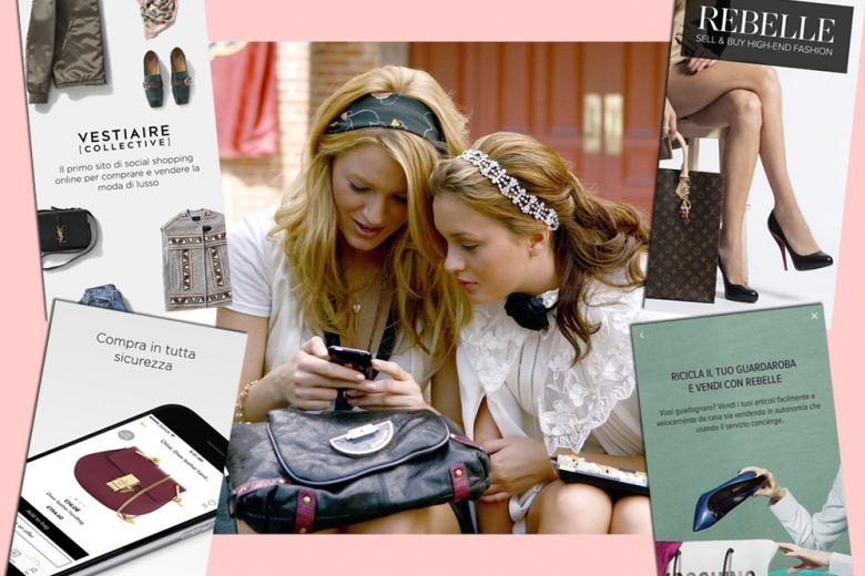 """Fare shopping sulle app di """"second-hand"""""""