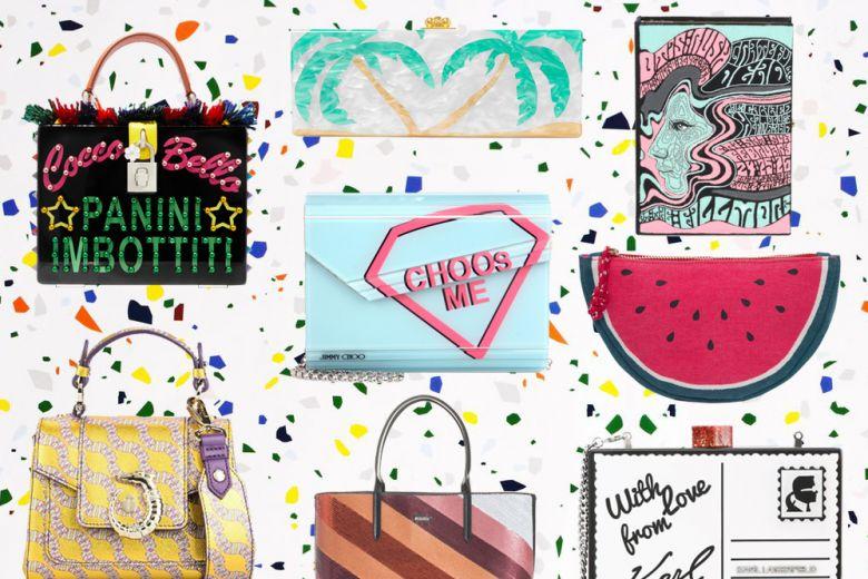 Borse da sera: i modelli più colorati e cool dell'estate 2017