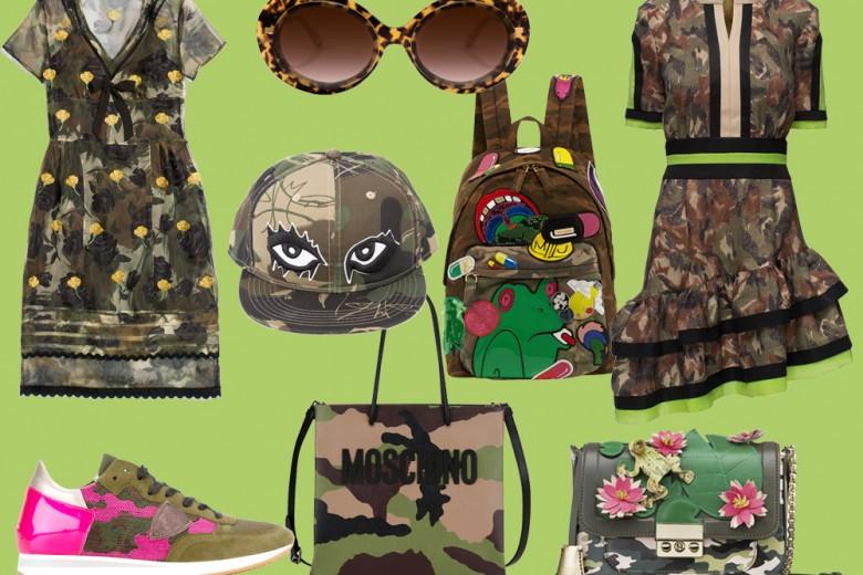 Camouflage estivo