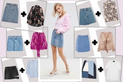 Come abbinare la minigonna in jeans per l'estate 2017