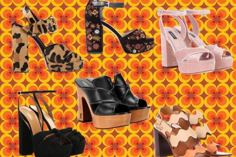 Back to 70s: i sandali estivi