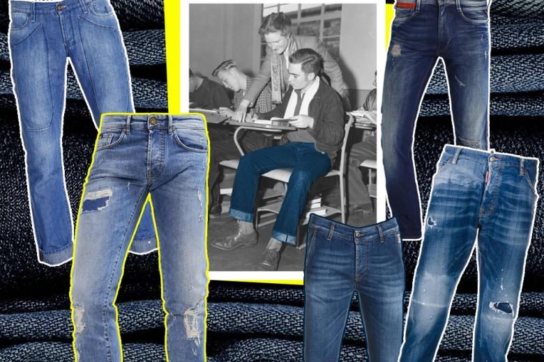 Jeans Uomo 2017: i modelli in denim per lui