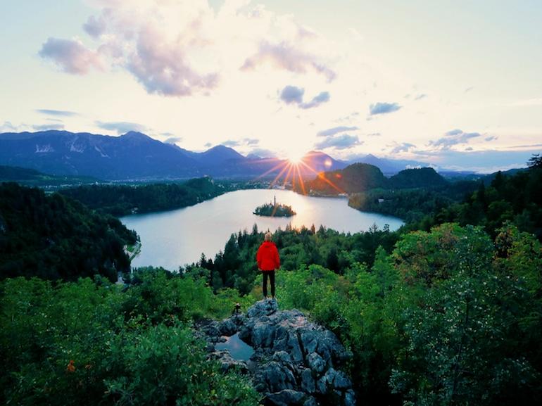 Lago di Bled, Slovenia by Slovenia.Info
