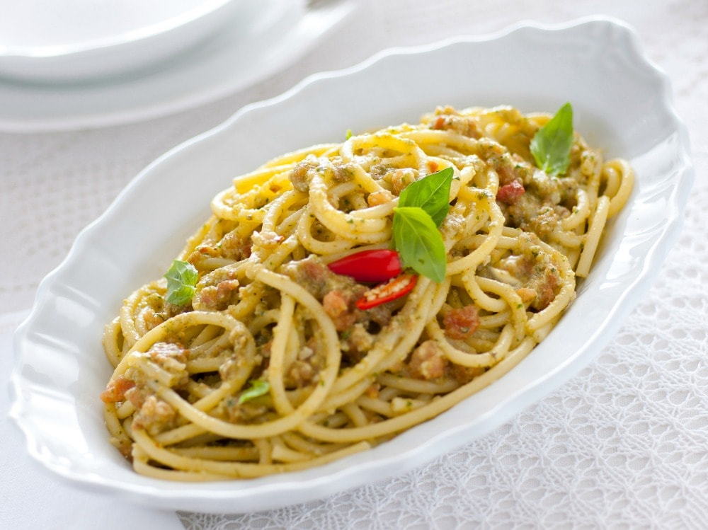 Pesto trapanese alla siciliana