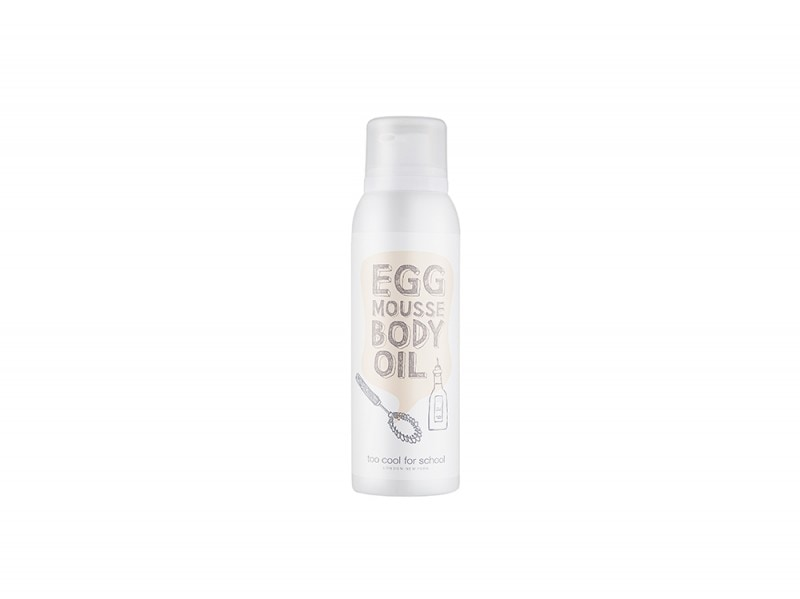 Too Cool For School_EGG MOUSSE BODY OIL_