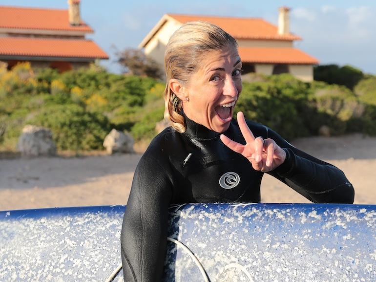 Valentina Marconi surf