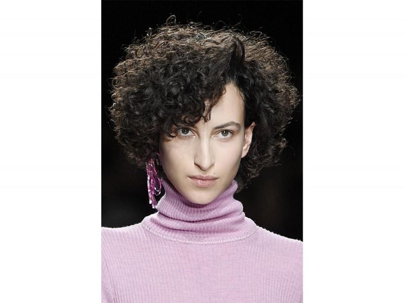 tagli di capelli ricci per l'Autunno Inverno