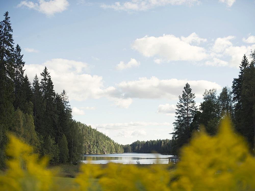 Verso il Grande Nord il beauty-case per Stoccolma-loka brunn