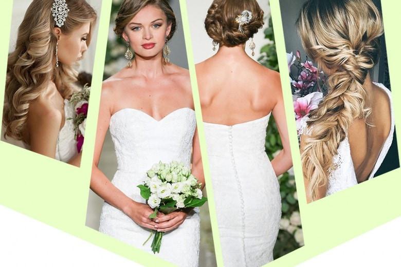 Acconciatura sposa capelli lunghi: raccolti, semi raccolti, sciolti e trecce