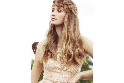 acconciature sposa capelli lunghi saintA (