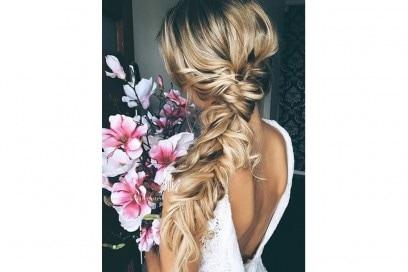 acconciature sposa capelli lunghi treccP (