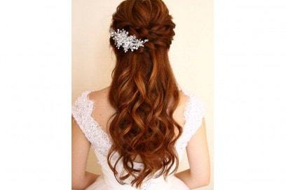 acconciature sposa capelli lunghi treccP ( (2)