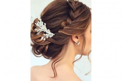 acconciature sposa capelli lunghi treccP ( (6)