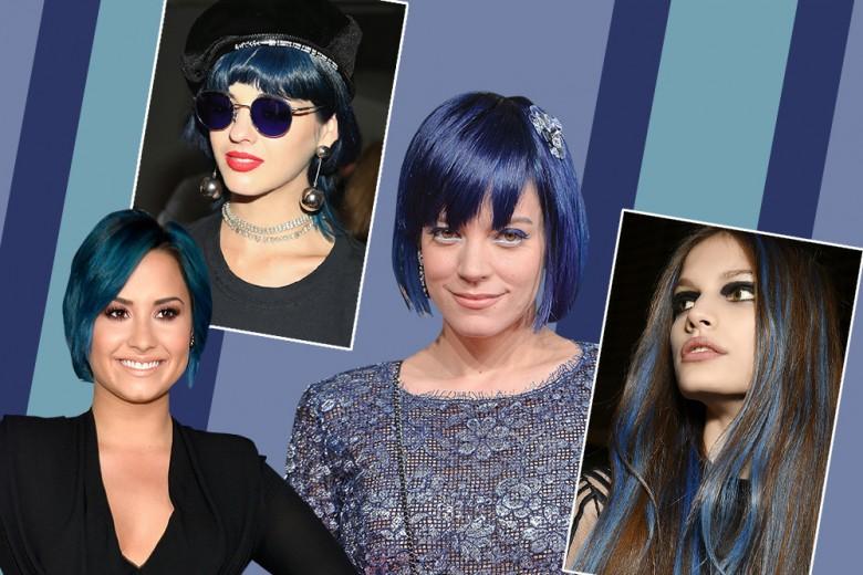 Capelli blu: la tendenza colore per il prossimo Autunno Inverno