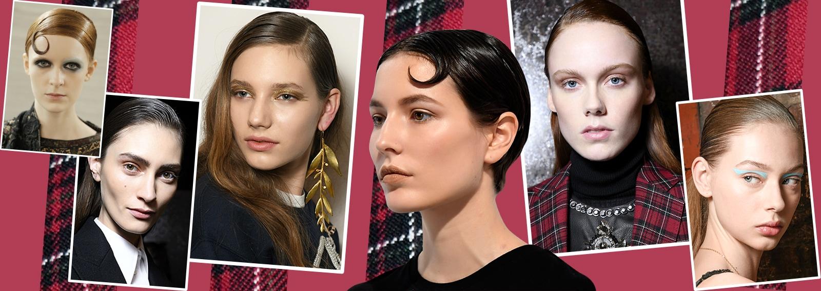 capelli la tendenza flat sleek per l'autunno inverno 2017 2018 collage_desktop