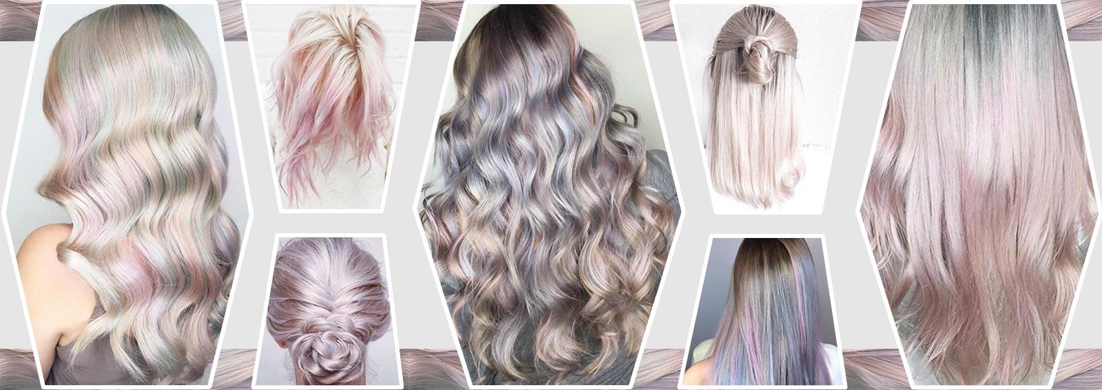 capelli pear hair tinta perlaperlata grigio lilla verde pastello cangiante collage_desktop