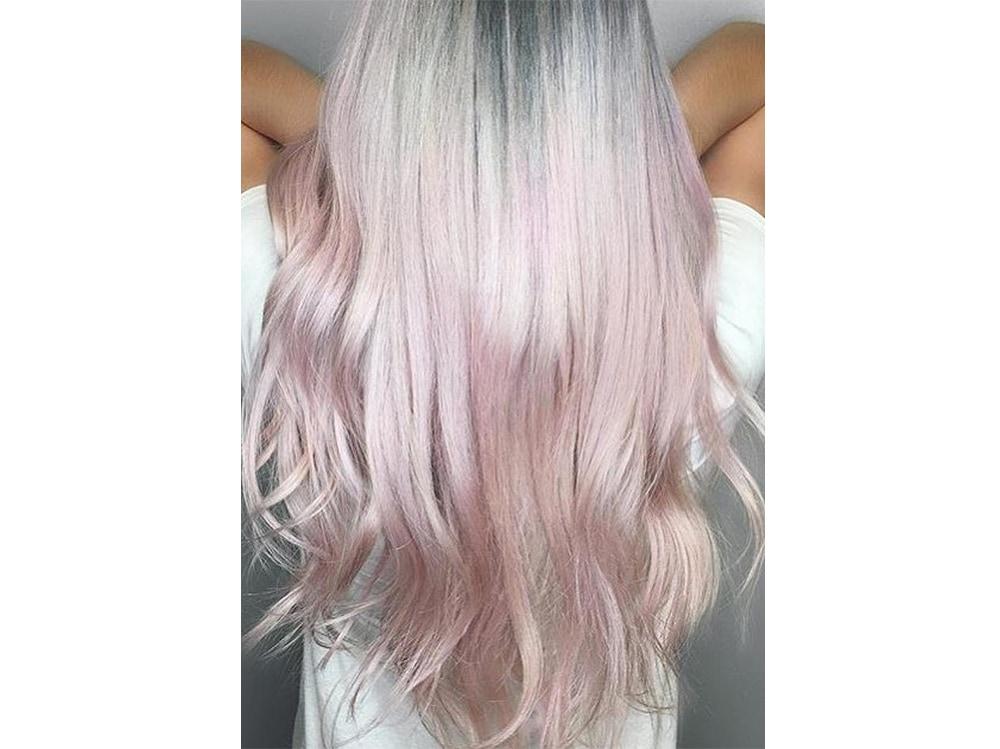 capelli pear hair tinta perlata grigio lilla verde pastello cangiante (10)
