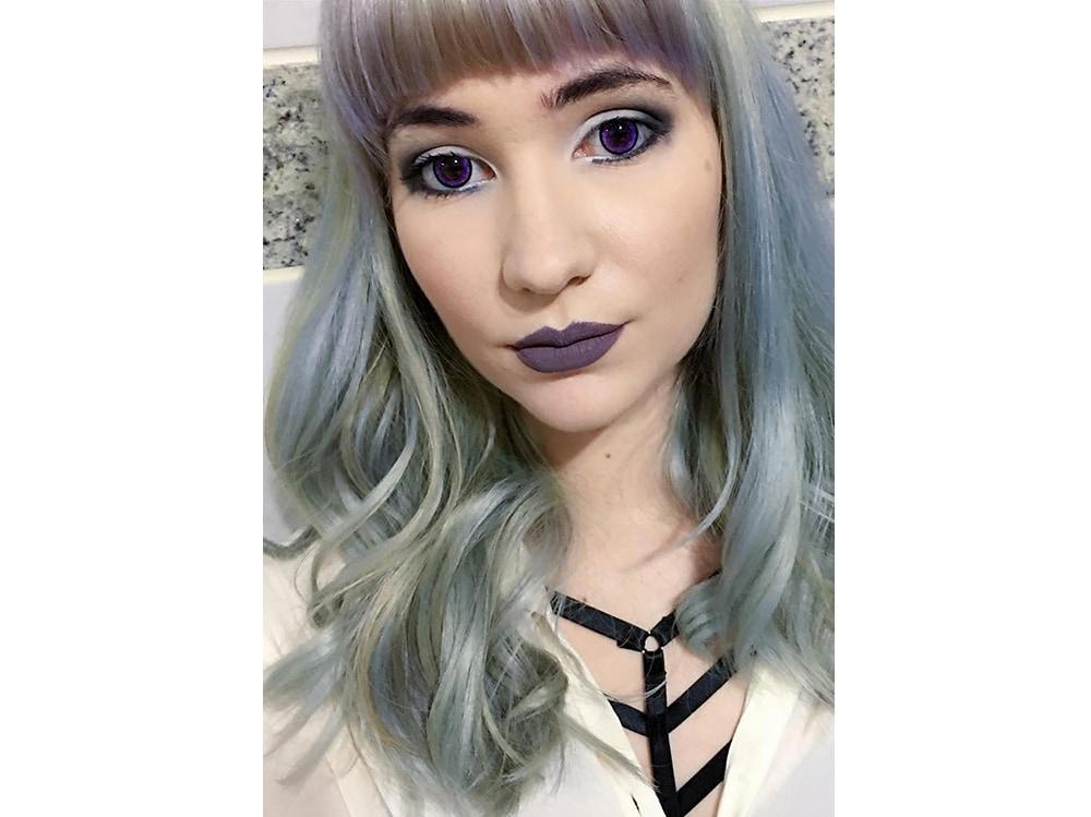 capelli pear hair tinta perlata grigio lilla verde pastello cangiante (11)