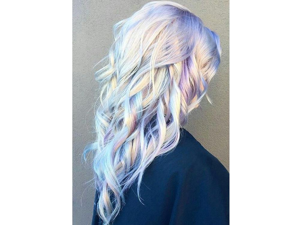 capelli pear hair tinta perlata grigio lilla verde pastello cangiante (4)