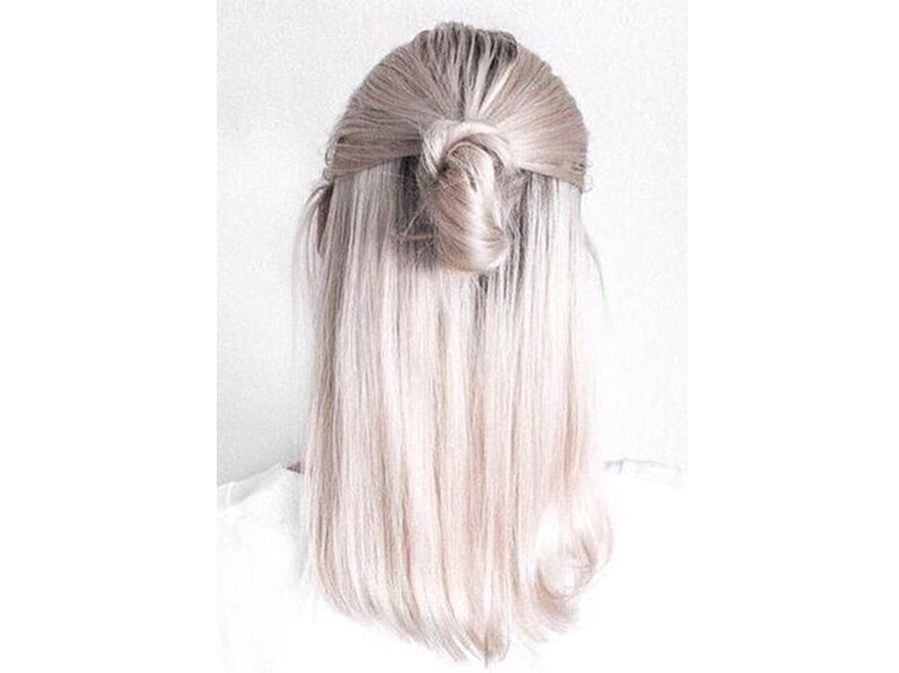 capelli pear hair tinta perlata grigio lilla verde pastello cangiante (5)