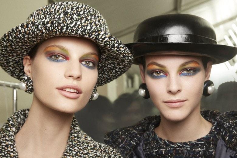 Chanel Haute Couture Autunno Inverno 2017 2018: il trucco della sfilata