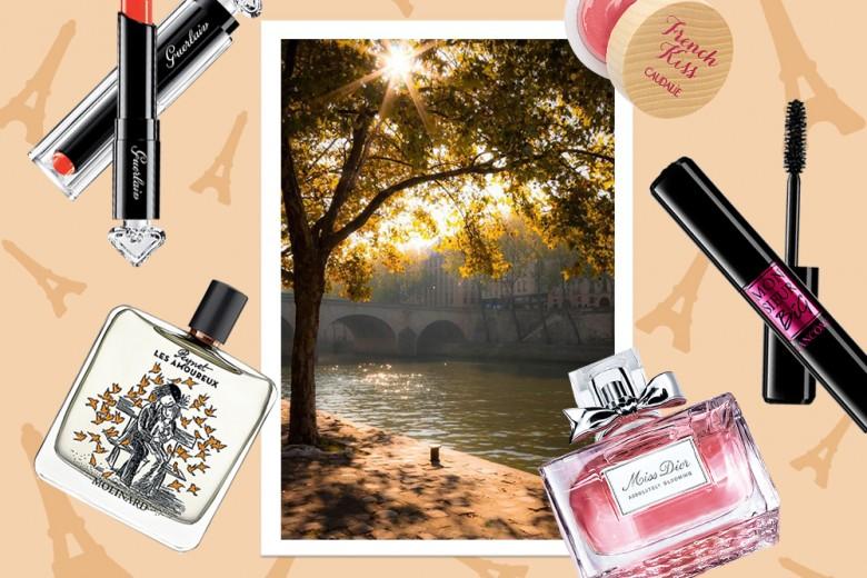 Il beauty case per una vacanza romantica a Parigi (e un indirizzo speciale da scoprire)