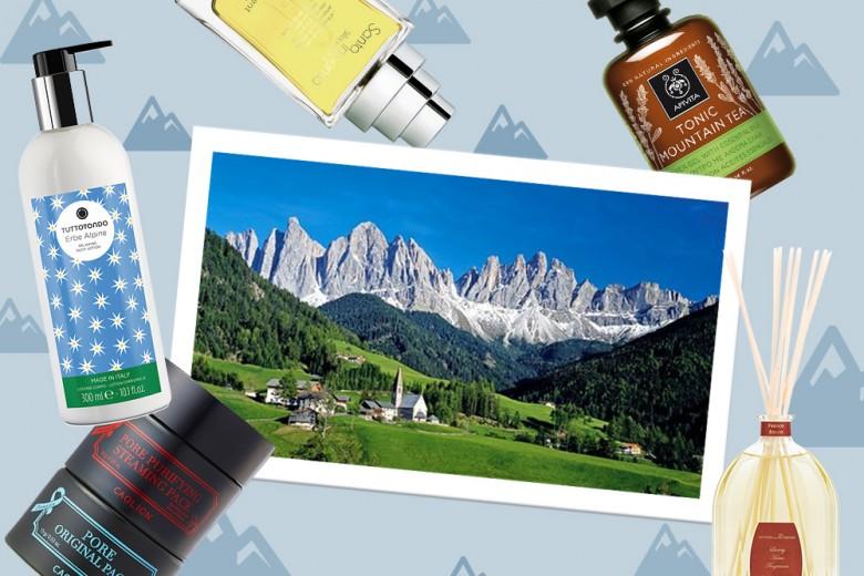 Beauty da montagna: i consigli e i prodotti adatti